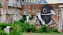 Gijs Vanhee / Huidevetterken - 18 juni 2016 (Ferdinand 'Ferre' Feys) Tags: streetart graffiti belgium belgique belgi urbanart graff ghent gent gand graffitiart artdelarue urbanarte gijsvanhee