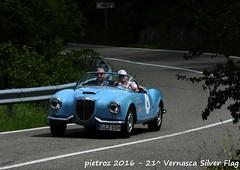 DSC_6577 - Lancia Aurelia B24 America - 1955 - Desinger Kai - Le24ToursDupont (pietroz) Tags: silver photo foto photos flag historic fotos pietro storico zoccola 21 storiche vernasca pietroz