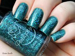 Ocean Breeze PL (viviangusella) Tags: nail polish nailpolish unhas pl glitters esmaltes esmalte naillacquer penélopeluz indiepolish penelopeluz nailpromote