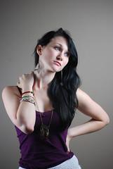 2 (CeriseBleuePhoto) Tags: portrait pose femme violet jupe