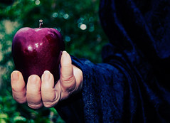 Poison Apple #1 (LunarAffinityPhotography) Tags: red apple fairytale witch evil queen poison grimm