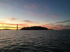 (TJPrz) Tags: sf sanfrancisco sunset island bay baybridge sanfranciscobayarea bayarea sanfranciscobay yerbabuenaisland oaklandbaybridge sanfanciscobaybridge