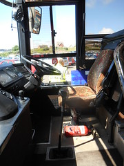 Newton's H155 DJU Cab (welsh bus 16) Tags: volvo barry paramount newtons 3500 plaxton b10m scotlandandbates h155dju