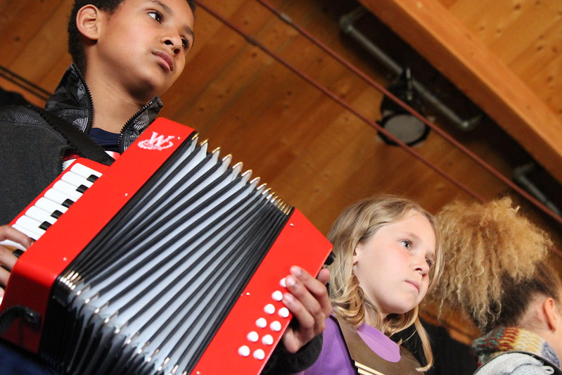Performance Art and Learning: Spring 2016 Zydeco Music with Andre Thierry