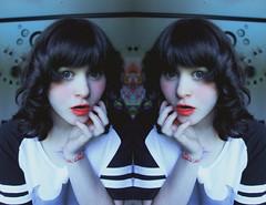 Happy st jean (Joeexxsix) Tags: portrait canada cute girl hair photography quebec harajuku kawaii hairstyle selfie circlelens harajukufashion
