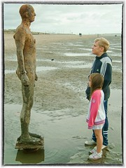 Encounters (foggyray90) Tags: ironman antonygormley anotherplace crosby beach merseyside liverpool