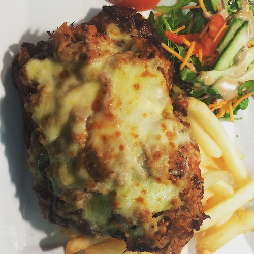 Pulled Pork Parmy