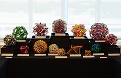 OUSA 2016: My Display (Byriah Loper) Tags: paper origami polygon paperfolding polyhedron origamimodular byriahloper