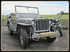 Willys MB, 1942 (v8dub) Tags: willys mb 1942 jeep 4x4 gelndewagen army arme military militaire militr schweiz suisse switzerland fribourg freiburg american pkw voiture car wagen worldcars auto automobile automotive old oldtimer oldcar klassik classic collector