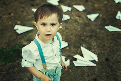 a thousand game (Maria Nenenko) Tags: family boy portrait art childhood forest vintage idea kid shoot mood play russia small fineart picture pic games best planes concept conceptual boyhood psychology surgut paperplanes conceptphoto marinino marininoart