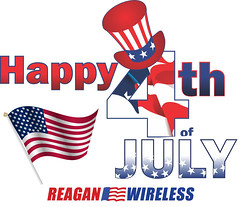 Happy 4th of July from Reagan Wireless Corp. (Reagan Wireless) Tags: 4thofjuly july4th holiday