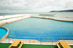 Jubilee Pool (goodbyetrouble) Tags: uk sea england art pool coast meer cornwall britain jubilee deco kste penzance schwimmbad