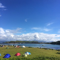 Camping Idyll (jennyfur53) Tags: eigg
