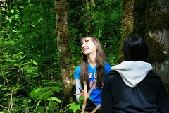 Laughing (wildliferecreation) Tags: forest washington urbanforest bothell northcreekforest
