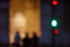 Trinit  rue Garancire, Paris, soir du 9 mai 2013 (Stphane Bily) Tags: city 3 paris trois evening three silhouettes blurred ruegarancire soir crpuscule ville ombres stphanebily