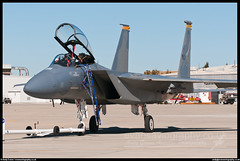 F-15D Eagle (evansaviography) Tags: california eagle nasa boeing edwards usaf afb f15 dryden mcdonneldouglas f15d flightresearchcentre airoperationscentre