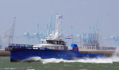 LIZ V (kees torn) Tags: offshore nieuwewaterweg crewboat portofrotterdam sony70300ssm sonya57 stematmarineservice neptunesshipyardaalst