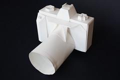 Origami création - Didier Boursin - Appareil photo Reflex