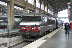 20130503 029 Paris Nord. 15031 Waits With A Rake Of V2N Stock (15038) Tags: france electric trains locomotive railways sncf parisnord 15031 bb15000