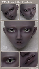 Withdoll - Juwel - Rosy Brown Skin (Invie Aesthetics) Tags: 14 bjd commission msd juwel faceup withdoll