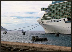 Equinox Docked (d13m7) Tags: cruise paintshop caribbean equinox dominica pspx4 paintshopprox4