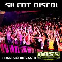 Who's up for the mother of all silent disco's on Thursday night at NASS Festival. Expect everything from Benga to Biffy, Skepta to Sum 41 with everything inbetween... #NASShype Tickets selling out! www.bit.ly/NASS13tix (NASS Festival) Tags: festival energy drink relentless nass