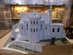 Model of the Carmo Church before the 1755 earthquake - Carmo Church Archeological Museum - Lisbon ~ Now, only ruins of the Carmo Convent, which was destroyed in the Lisbon earthquake (Antónia Lobato) Tags: church earthquake model lisbon carmo 1755