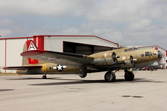 Boeing B-17 Flying Fortress (iamsam2407) Tags: world 2 up night start flying war texas bell shots smoke jet foundation vietnam huey helicopter b17 ii consolidated boeing fortress denison liberator sherman b24 radial messerschmitt schwalbe uh1 collings me262 kgyi