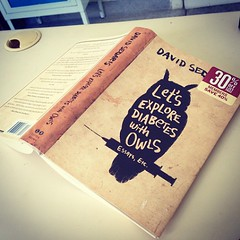 Let's explore diabetes with owls. David Sedaris. Muito bom! (fabiooli) Tags: square squareformat iphoneography instagramapp xproii uploaded:by=instagram foursquare:venue=4e0a2631b0fbba5eee2eb80f