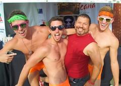 PrideSat 148 (danimaniacs) Tags: gay shirtless man hot sexy guy pecs la losangeles underwear chest hunk pride westhollywood hung bulge pridesat