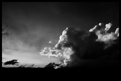 babar (mamuangsuk) Tags: sky monochrome clouds nuvole nimbus ciel jura cielo cumulus nuages babar blackandwhitesky flyingelephant bwsky mamuangsuk fujix100 monoclouds