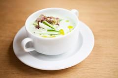 Fresh polvka / Fresh soup (Bistro Franz) Tags: food soup restaurant bistro brno restaurace