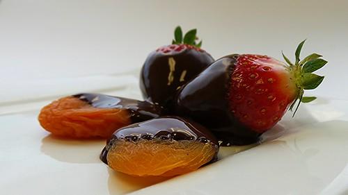 Chocolate Fruit Fondue