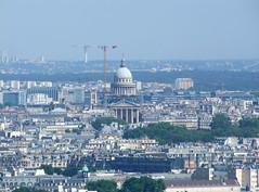 Panthéon (Simon_K) Tags: urban paris france tower high tour top eiffeltower eiffel eifel toureiffel lookingdown parisian birdseye vantage francais eiffell eifell parisien pariswander pariswanderblogspotcouk