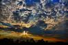 Sunset Elst the Netherlands (Lou-bella) Tags: sunset sky nature landscape thenetherlands hdr elst hdrterrorist sony18135mm ilobsterit