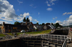 Caledonian Canal (Stephen Whittaker) Tags: water scotland canal nikon locks augustus caledonian d5100 whitto27