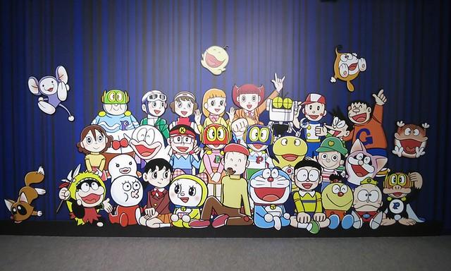 キャラクター集合!!ここで一緒に写真を撮ると、仲間になったよ。|東京タワー