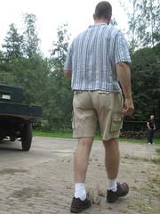 white  socks can be hot ! (fluppes_be) Tags: hairylegs whitesocks bareleg manbulge manbelly hotmalelegs nudelegman hairycalfs