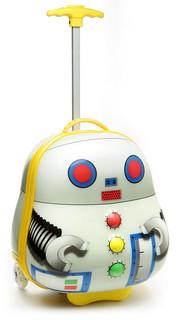 幼兒專用!超可愛機器人行李