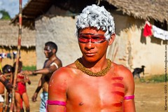 Tuxaua Xirixana (cacique) (MarceloCamachobv) Tags: wild brazil people southamerica brasil forest pessoas amazon gente indian cotidiano cacique floresta indgena selvagem amricadosul amaznia chefe lder tuxaua yanommi
