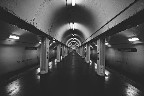 Alone underground