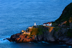 (Jehch) Tags: sunset lighthouse canada canon newfoundland landscape stjohns signalhill 60d