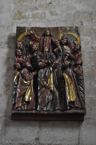 Laredo (Cantabria). Iglesia de Santa María de la Asunción. Ascensión. Siglo XVII. Francisco de la Dehesa Gargollo