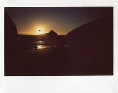 pfeiffer beach big sur (teacup_dreams) Tags: california sunset usa beach america polaroid big sur pfeiffer instax