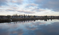 Mirrored clouds (AmericanSwede1952) Tags: day cloudy autumncolors naturesbeauty fallcolorsinsweden