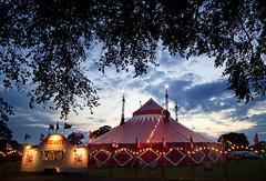 Big Top...... (Digital Diary........) Tags: uk lowlight circus framed clowns sthelens bigtop merseyside goodlight sherdleypark