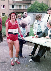 Image titled Cranhill Fun Run with winner 1980s