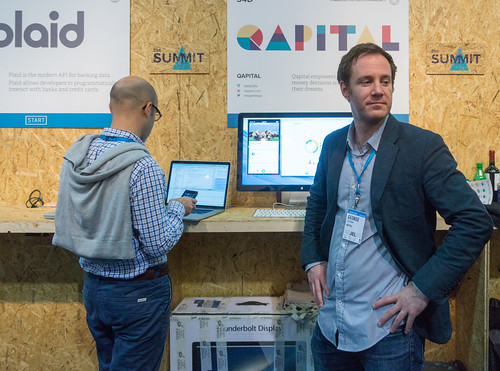 Web Summit - George From Sweden Representing Qapital