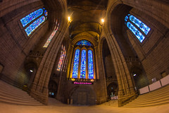 The Great Space (18mm & Other Stuff) Tags: uk england building church window architecture liverpool canon cathedral fisheye gb 8mm anglican merseyside 600d samyang