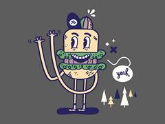 Yeah, yeah, yo ! (Stanley Gribouille) Tags: art illustration design vectorart character illustrator vector characterdesign vectorgraphics